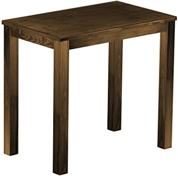 Brasil High Table 'Rio' 120x 73cm, Antique Pine Wood Tone Oak