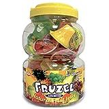 Fruzel Assorted Natural Fruit Juice Jelly Cups 51 Ounces (Tamaño: X-Large)