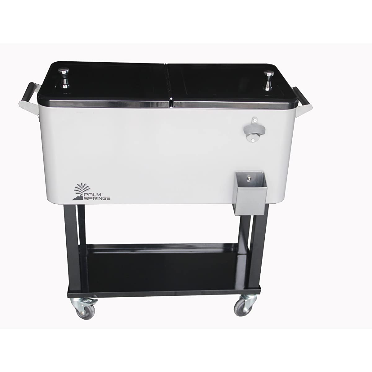 Palm Springs Outdoor 80 Quarts Portable Rolling Cooler