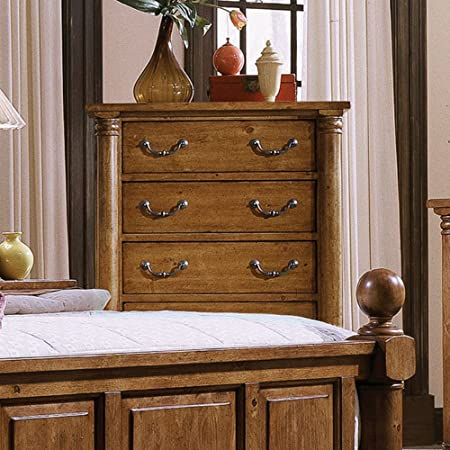 Progressive Furniture Thunder Bay 5 Drawer Chest - Golden Tobacco
