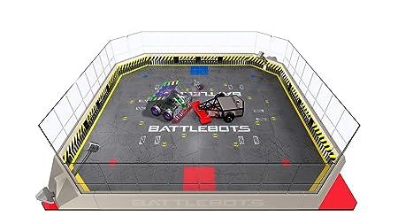 Hexbug – BattleBots – Arena – Arène de Combat + 2 Mini-Robots RC
