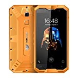 HOMTOM ZOJI Z8 Triple Proofing Phone 4GB+64GB 5.0 inch Android 7.0 MTK6750 Octa Core up to 1.5GHz WCDMA & GSM & FDD-LTE (Orange) (Color: Orange)
