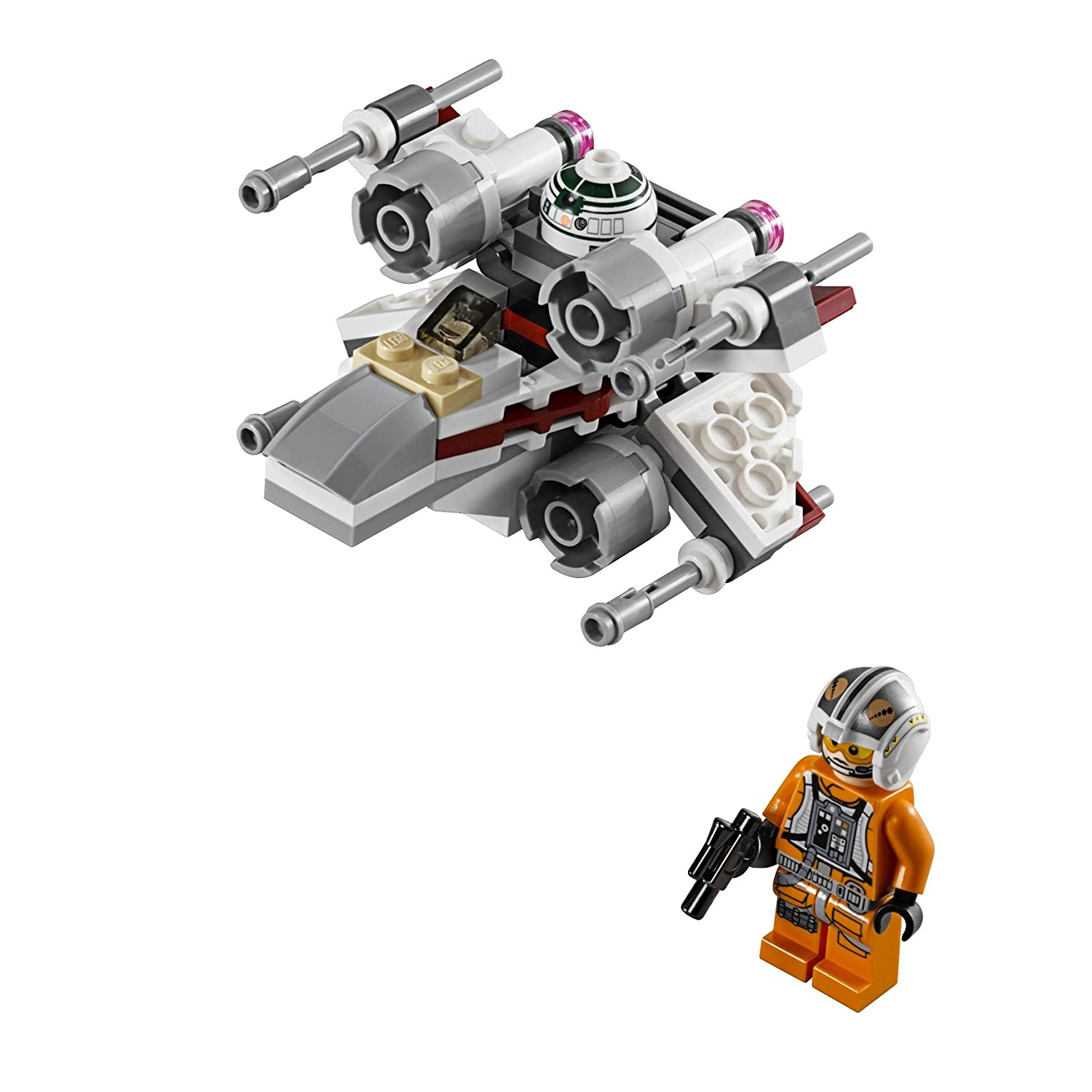 Lego Star Wars X Wing Starfighter: New LEGO Star Wars Micro Fighter X-wing Fighter 75032 From