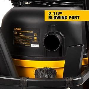 DeWALT 14 gallon Poly Wet/Dry Vac (Color: Yellow)