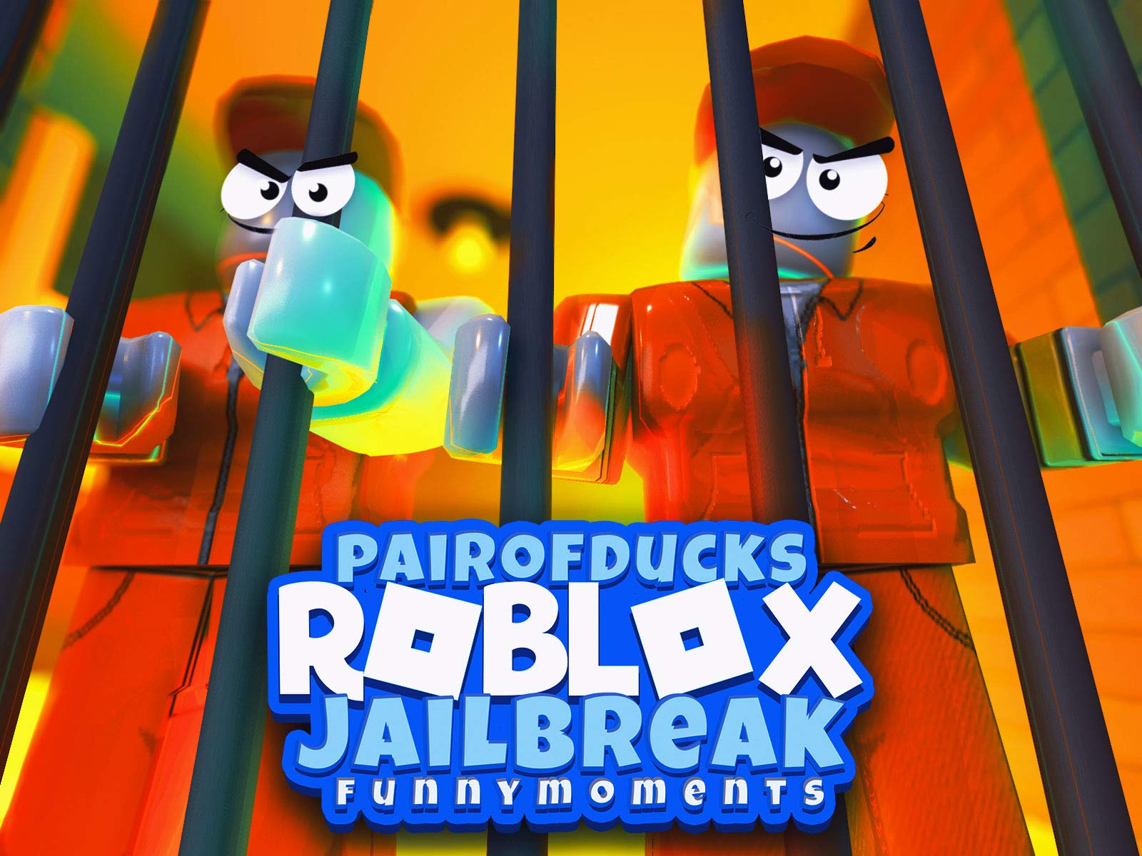 Clip: Roblox Jailbreak (PairOfDucks Funny Moments)
