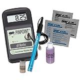 Pinpoint pH Meter KIT Lab Grade Portable Bench Meter Kit for Easy & Precise Digital pH Measurement - Complete 8 Piece Set