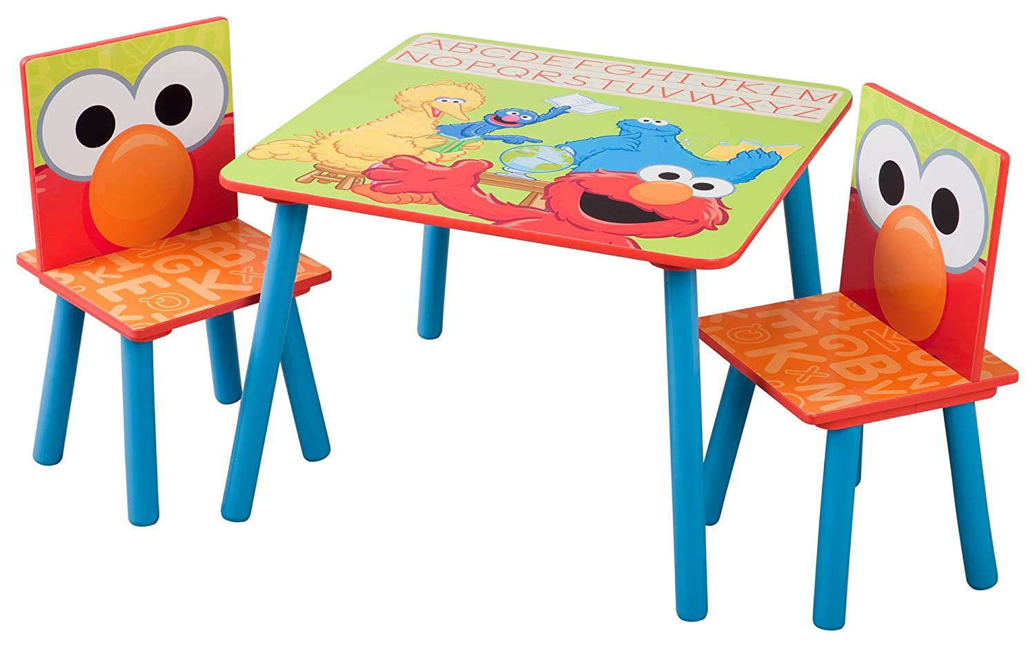 Sesame Street Table U0026 Chairs