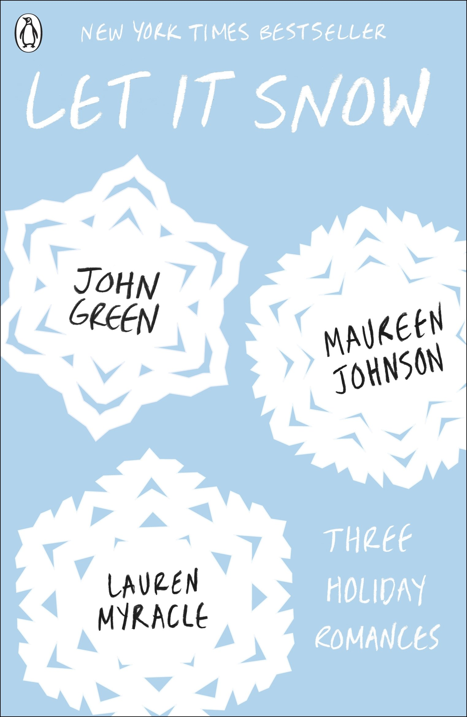 Let It Snow Book Cover at http://www.amazon.in/Let-Snow-John-Green/dp/0141349174