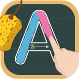 Write letters: Tracing ABC