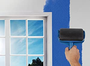 CJSJ Paint Runner Pro Roller Brush Painting Handle Tool - No Prep, No Mess. Simply Pour and Paint to Transform Any Room in Just Minutes