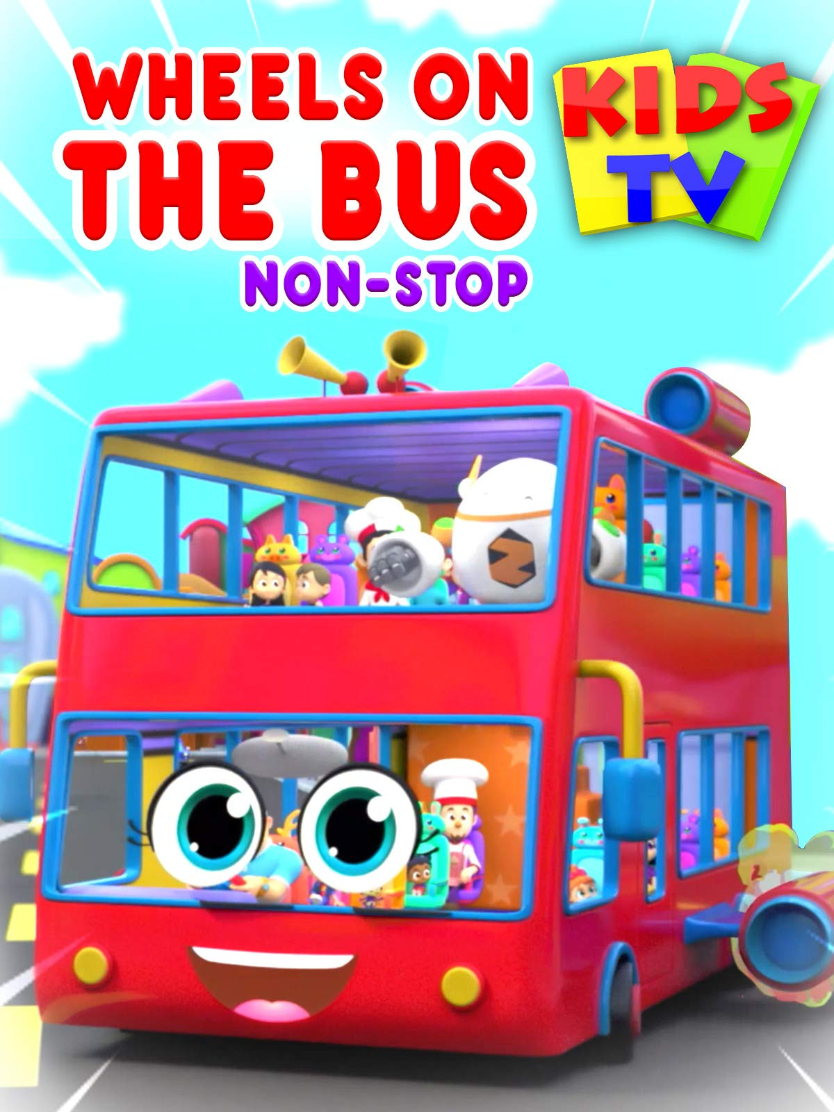 Wheels On The Bus Non-Stop - Kids TV on Amazon Prime Instant Video UK