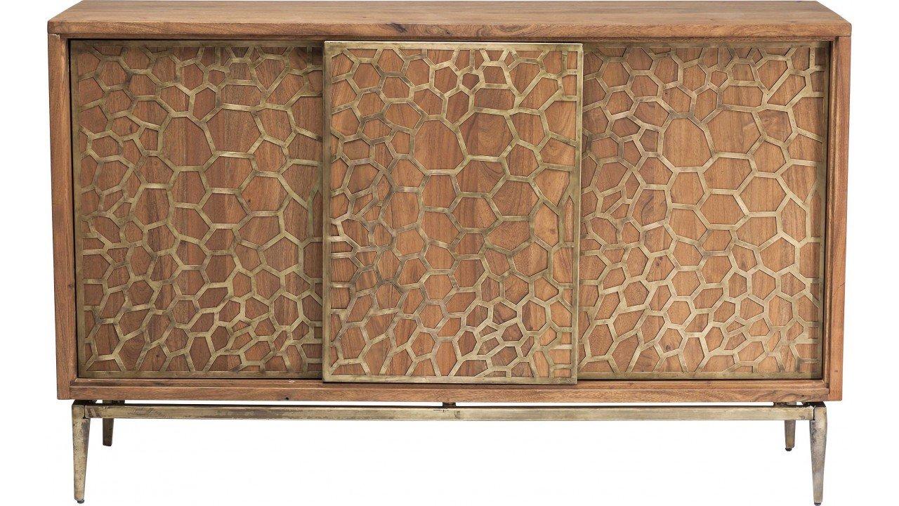 Kare 80301 Sideboard Mesh Brass