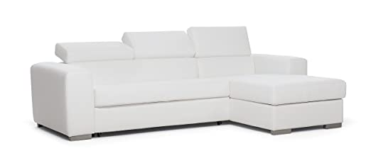 "Pull-out sofa bed 3 seater ""Mark"" with left container corner"
