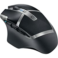 Logitech G602 Wireless Gaming Mouse (Black)