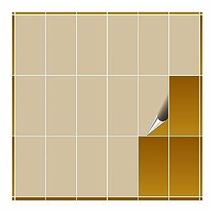 FoLIESEN  Fliesenaufkleber  beige glänzend  10cm x 20cm  500 Stück  BaumarktKundenbewertungen