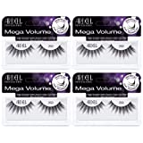 Ardell False Eyelashes Mega Volume Lash 253 (4 Pack) (Color: Black, Tamaño: Mega Volume Lash 253)