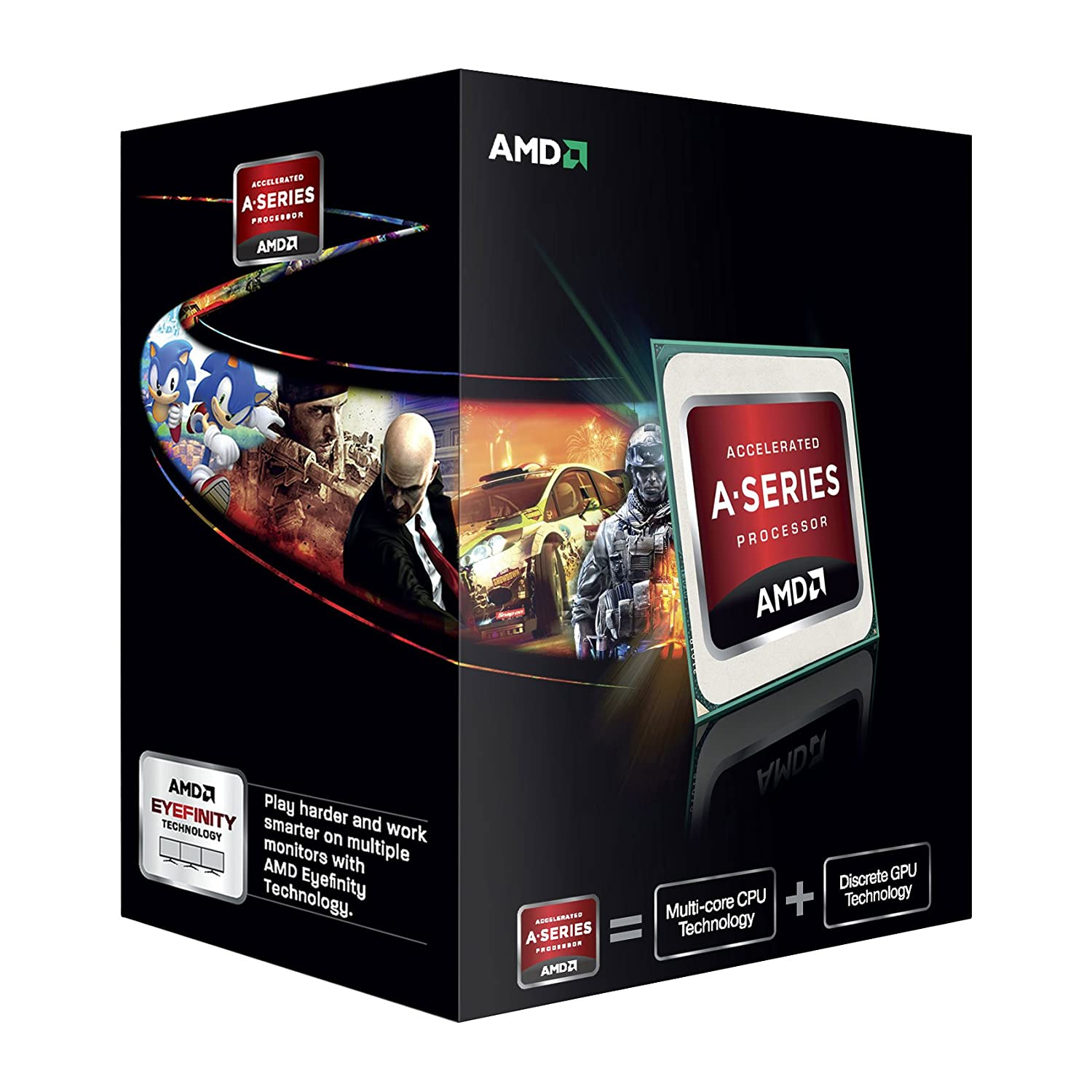 Amd Kaveri A6 7400k Radeon R4 Series 39ghz Cache 2x1mb 65w Socket Intel Core I5 6400 27ghz 6mb Box Lga 1151 Skylake Product Description This New Apu Form Continues To Revolutionize The Microprocessor Market It Is First With Hsa Hetrogenous Systems