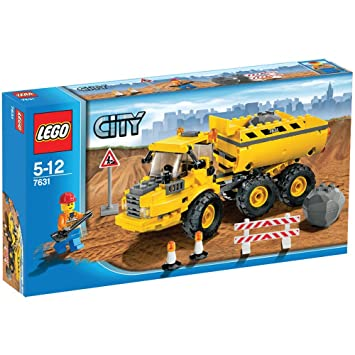 Lego - 7631 - Jeu de construction - Lego City - Le camion-benne