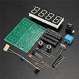 DAOKI C51 4 Bits Digital LED Electronic Clock Production Suite DIY Kits Set (Color: TYPE 2)