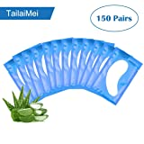 TailaiMei 150 Pairs Under Eye Gel Pad Lint Free Patches for Eyelash Extensions Makeup