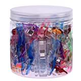 Katoot@ 100pcs Wonder Clip Plastic Sewing Clips Clamps Patchwork Sewing Accessory Quilt Tool 25 Large+75 Small Sewing Clips