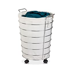 Laundry Hamper On Wheels Mishmashable