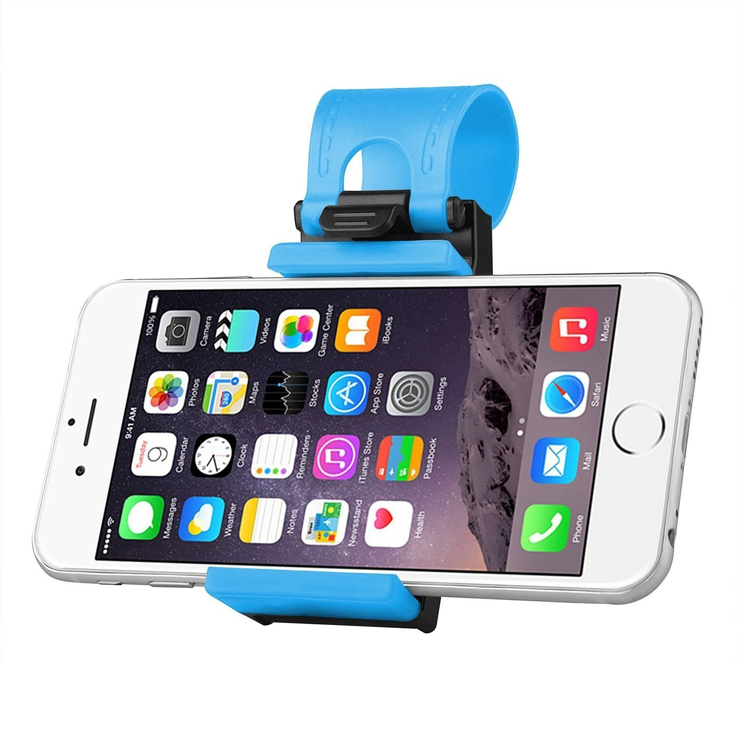 mobile holder for car steering
