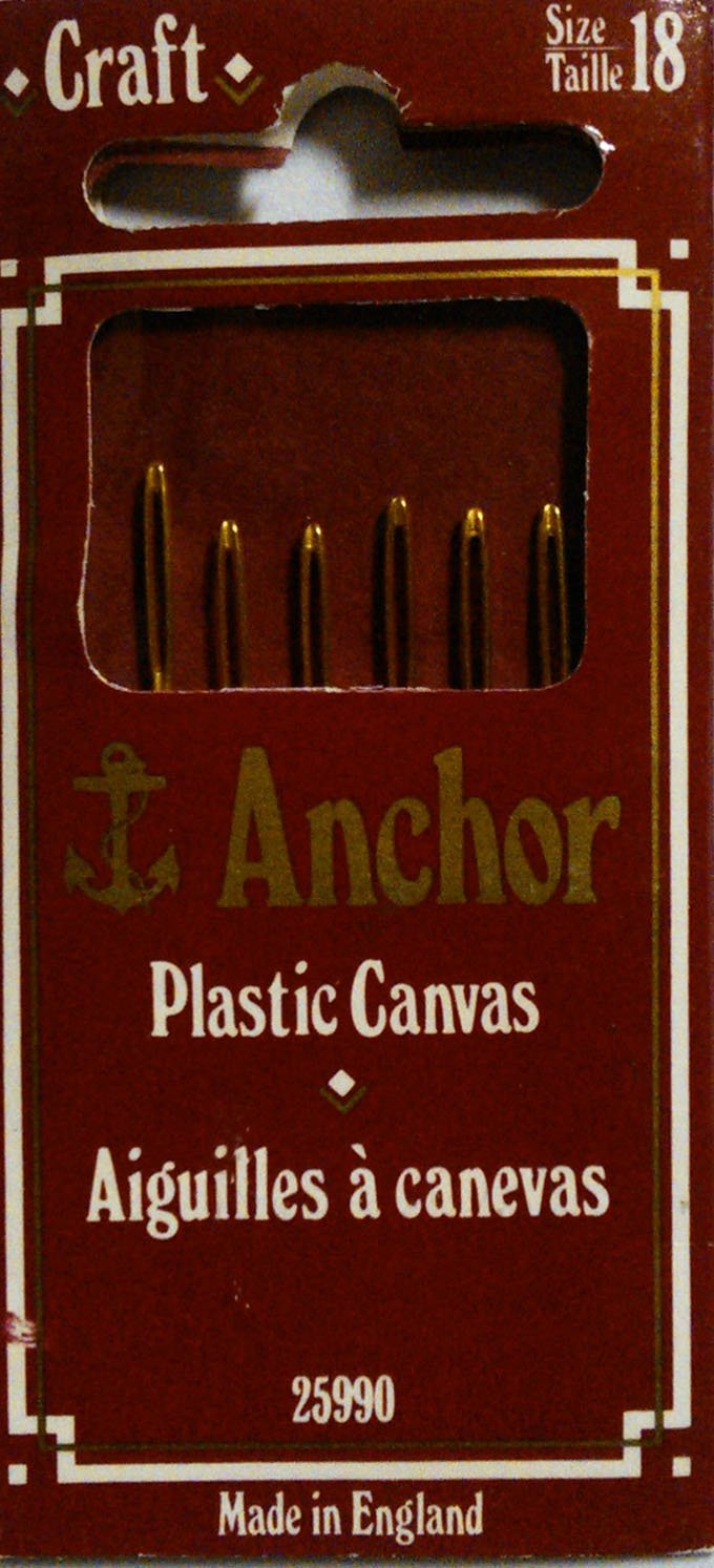 Anchor Plastic Canvas Sewing Needles- Size 18 With Gold Eye ,6/pk m american vintage wall lamp indoor lighting bedside lamps wall lights for home stair lamp