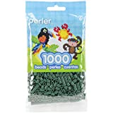 Perler Beads Fuse Beads for Crafts, 1000pcs, Evergreen (Color: Evergreen)