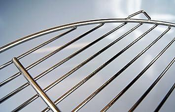 edelstahl grillrost f r 57cm kugelgrill 3 aufh nge sen. Black Bedroom Furniture Sets. Home Design Ideas
