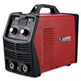 MMA-200, 200 Amp Stick ARC DC Inverter Welder, IGBT Digital Display LCD 120V & 240V Dual Voltage Welding (Color: Red, Tamaño: Full Size)