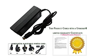 4-Pin AC//DC Adapter Power For Seagate 3132965 3066591 NU25-22120-140A Pushbutton