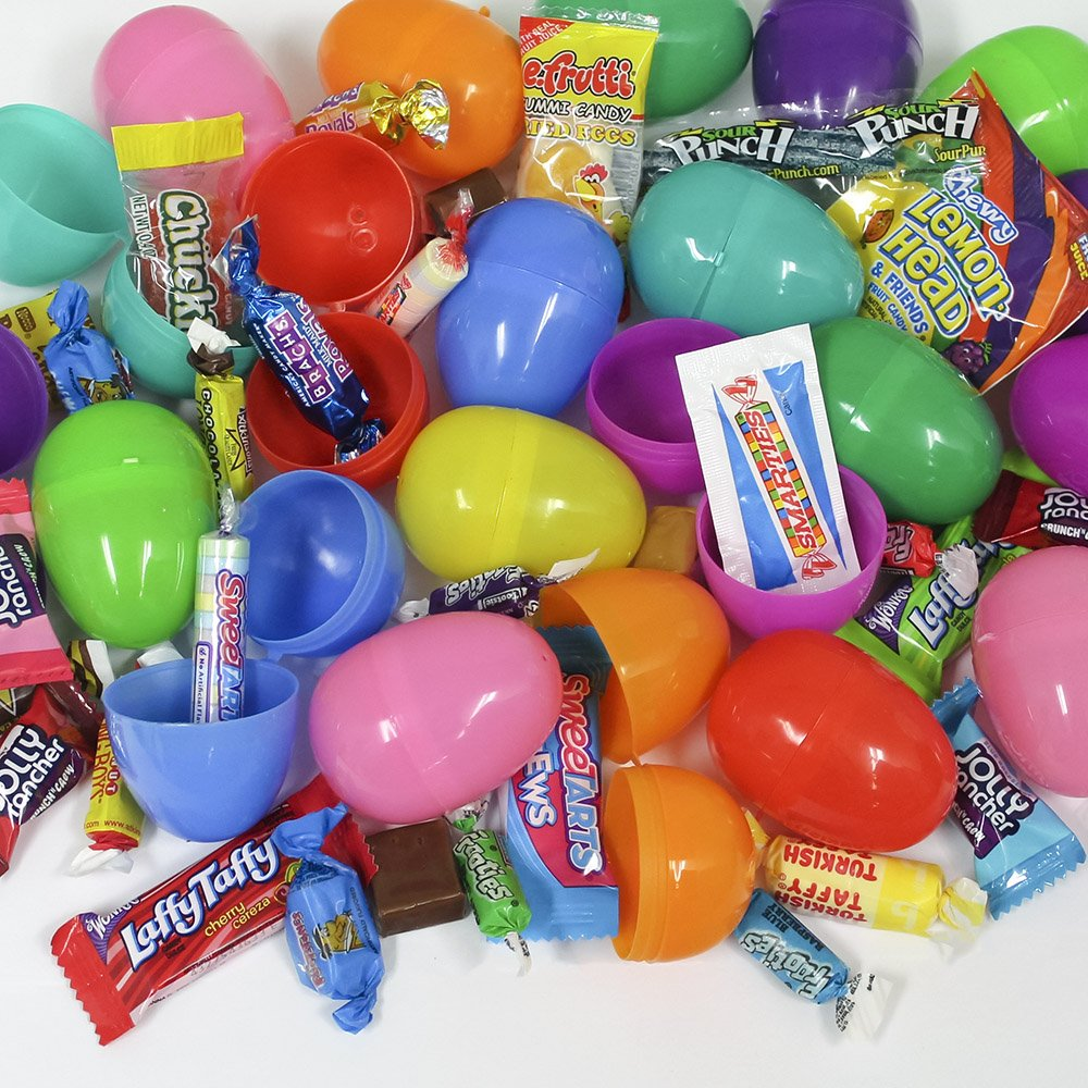 Ideas for easter egg hunt success wishlist gifts 100 candy filled easter eggs negle Choice Image