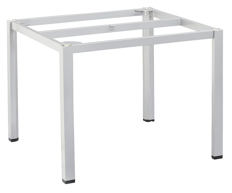 KETTLER Advantage Esstische Cubic-Tischgestell 95 x 95 cm Silber