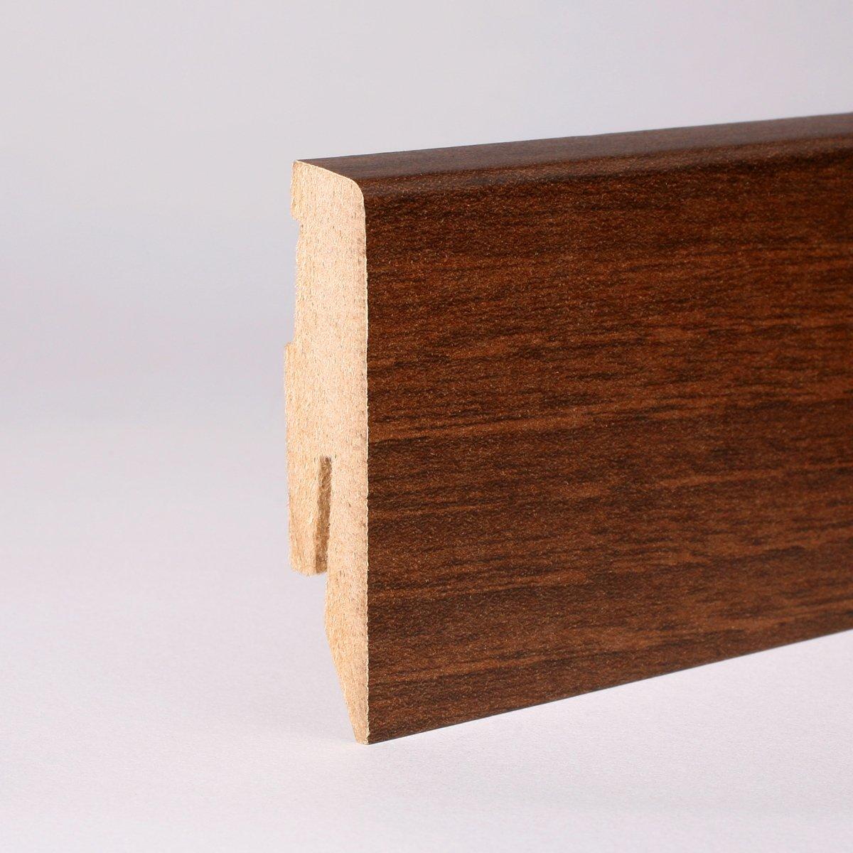 25m Sockelleisten 60mm All Inclusive Paket Nussbaum  BaumarktKundenbewertung und weitere Informationen