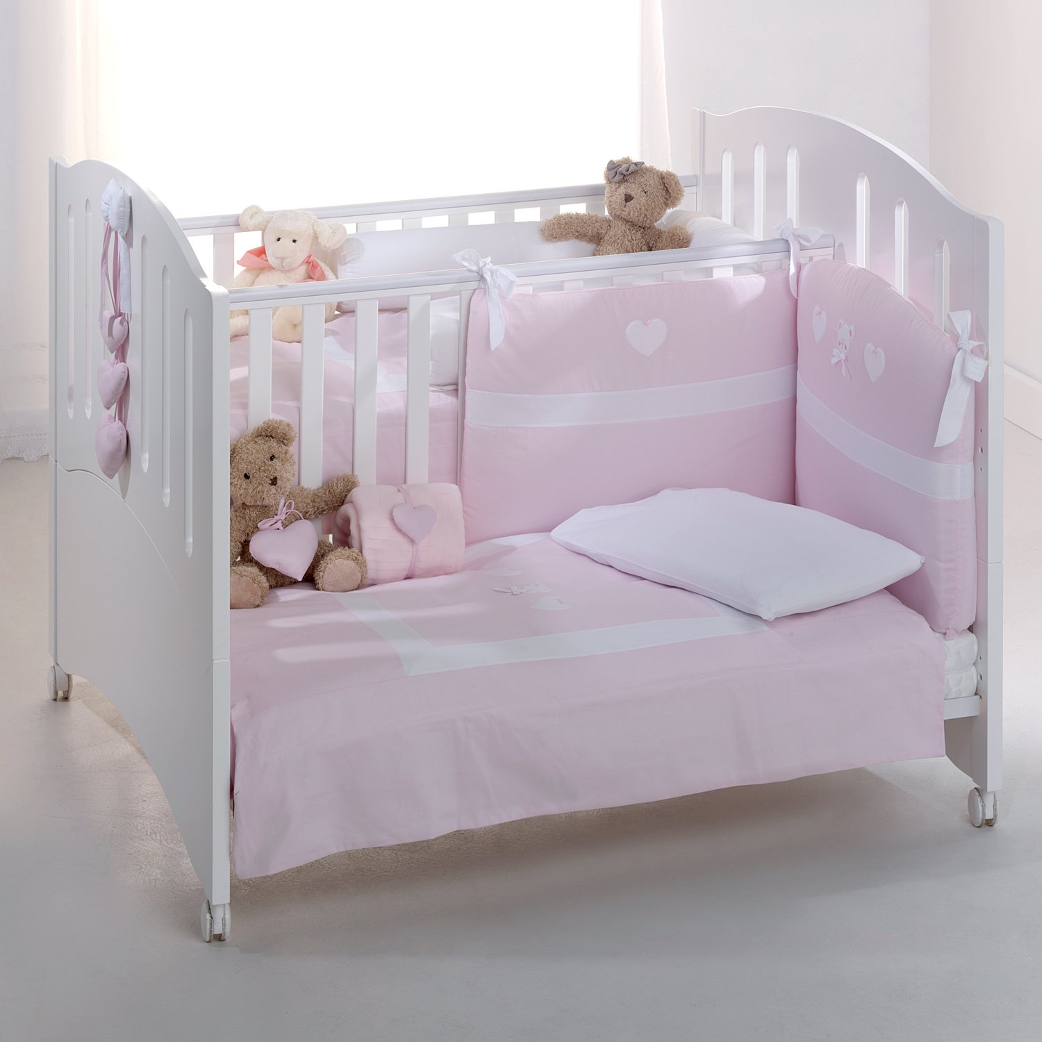 azzurra design zwillingsbett baby kinderbett zwillinge. Black Bedroom Furniture Sets. Home Design Ideas