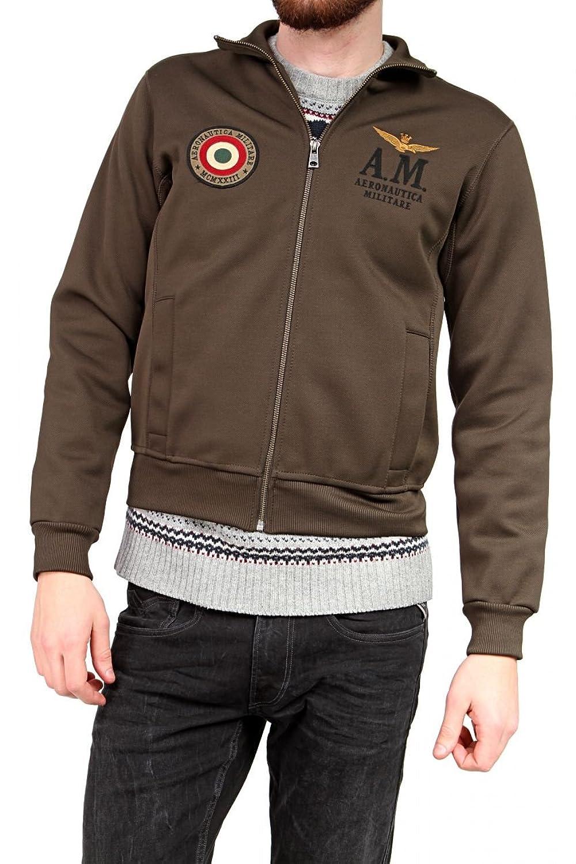 Aeronautica Militare Herren Blouson-Jacke , Farbe: Armeegruen