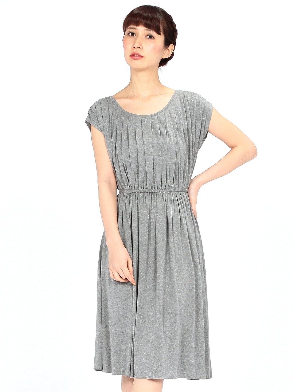 Amazon.co.jp: (ビームスライツ) BEAMS LIGHTS / バンブーベア タックワンピース 52260617012 グレー ONE SIZE: 服&ファッション小物通販
