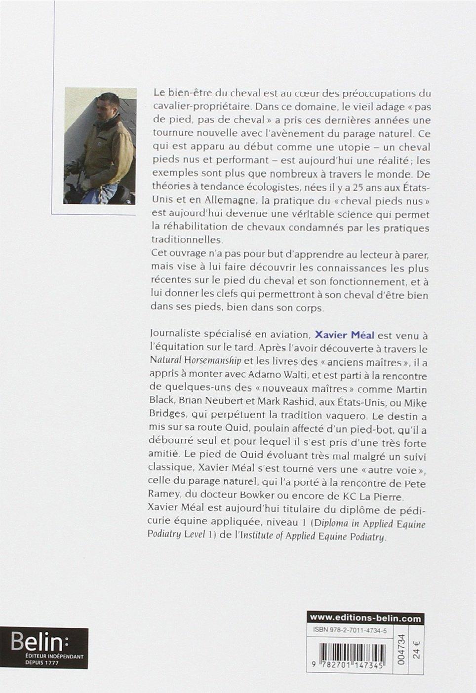 """Dos et avis sur le livre Première de couverture de """"Découvrir et comprendre le parage naturel""""."""