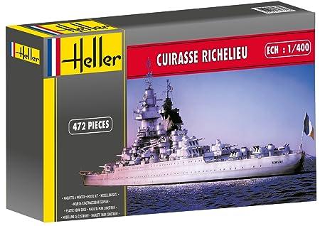 Heller - 81086 - Construction Et Maquettes - Richelieu - Echelle 1/400ème