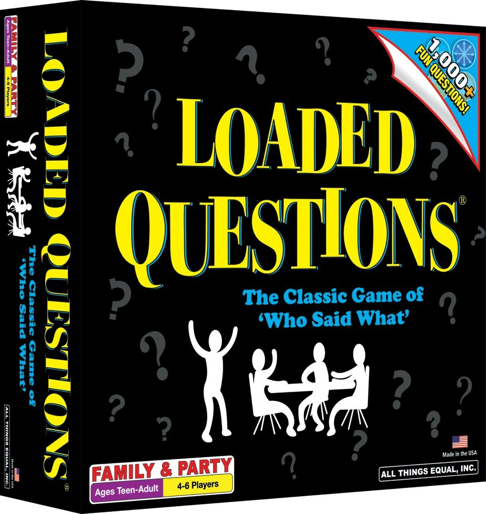 AmazonSmile: Loaded Questions: Toys & Games