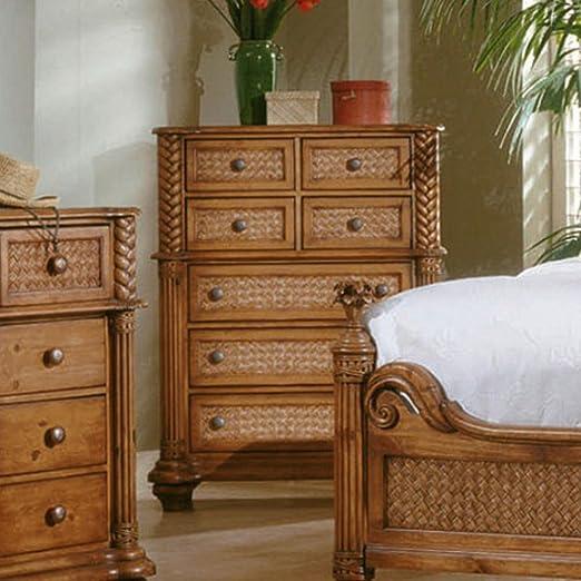 Progressive Furniture Palm Court 7 Drawer Chest - Island Pine