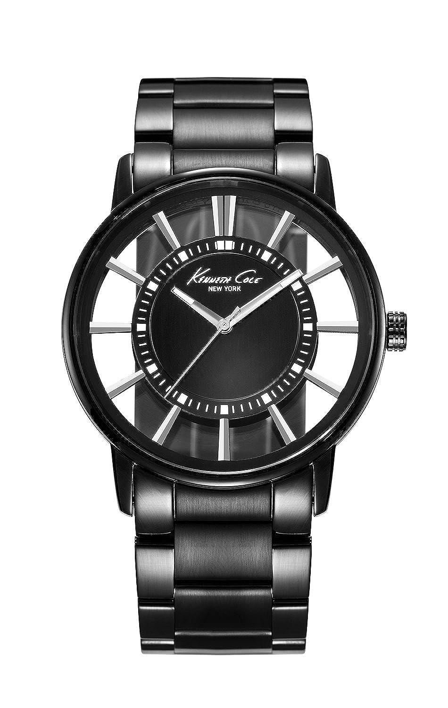 kenneth cole watches buy kenneth cole watches for men women kenneth cole analog black dial men s watch ikc3994