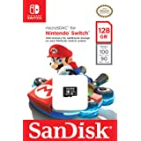 SanDisk 128GB microSDXC UHS-I card for Nintendo Switch - SDSQXAO-128G-GN6ZA