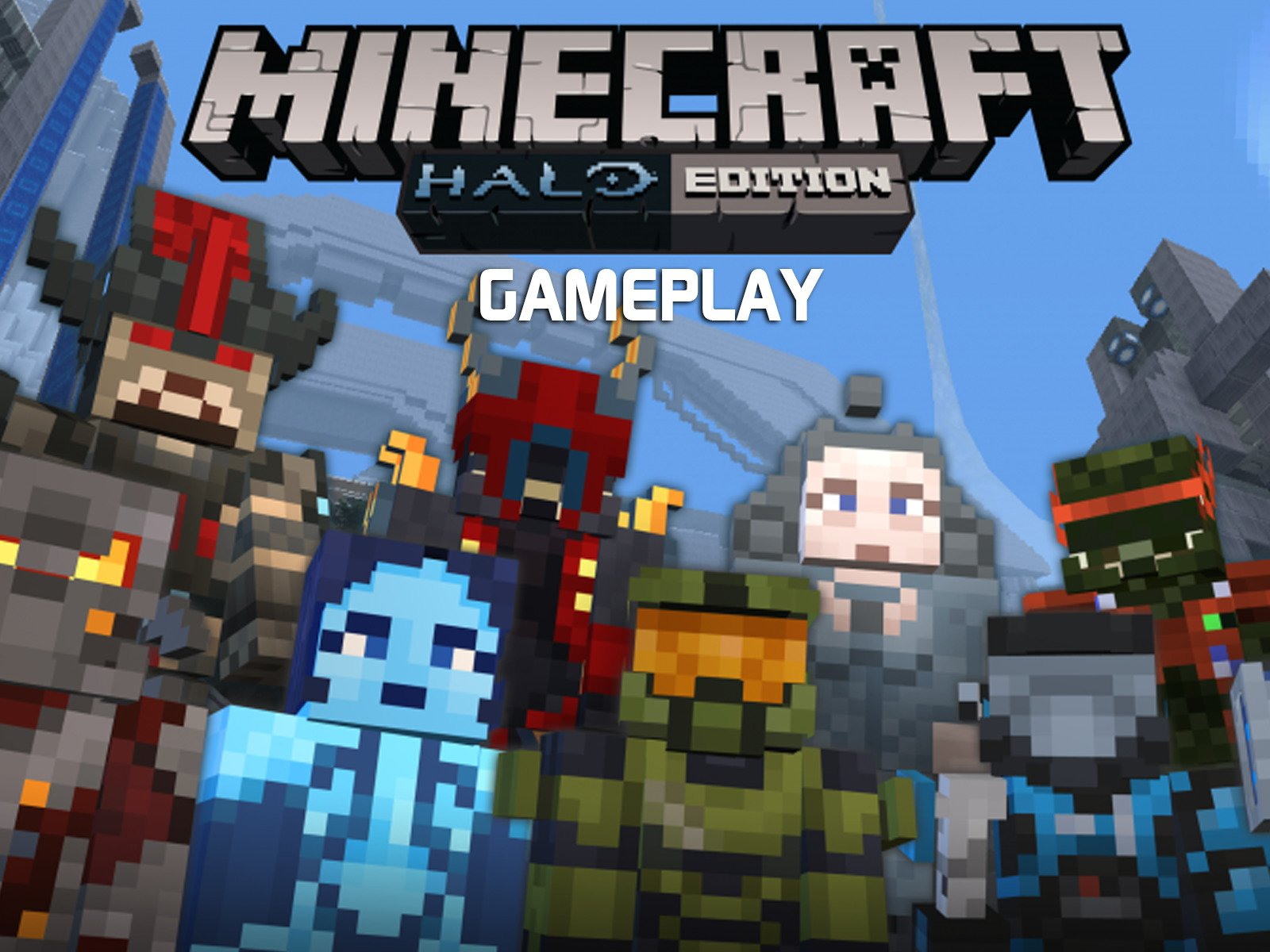 Clip: Minecraft Halo Edition Gameplay - Season 1