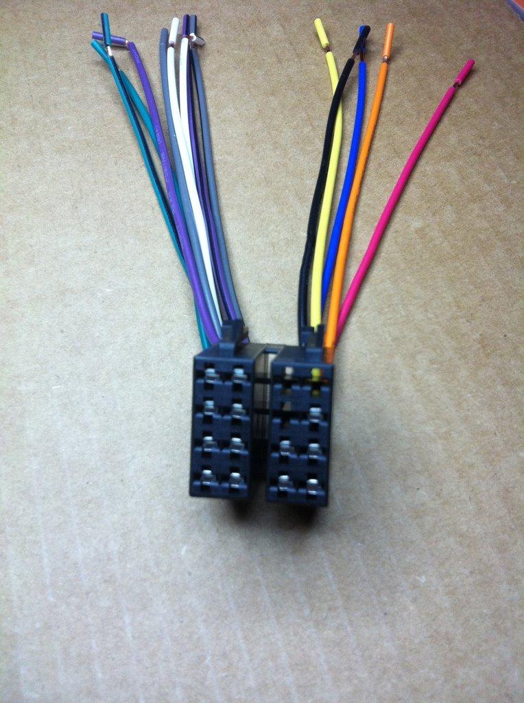 power acoustik car sterio head unit 16 pin wire harness. Black Bedroom Furniture Sets. Home Design Ideas