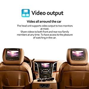 Double Din Android Car Stereo - Corehan 7 inch 2GB Ram 32GB