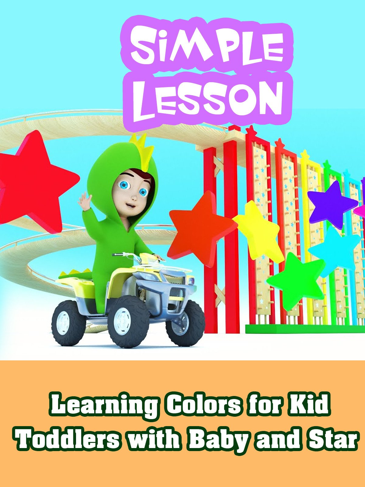 Learning Colors for Kid Toddlers with Baby and Star