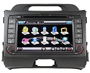 Koolertron For 2010 2011 KIA Sportage Indash Car Radio GPS