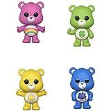 Funko Animation: POP! Care Bears Collectors Set - Good Luck Bear, Cheer Bear, Grumpy Bear, Funshine Bear (Color: Funko, Tamaño: 3.75 inches)